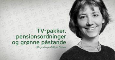 TV-pakker, pensionsordninger og grønne påstande